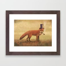 Crazy Like a Fox  Framed Art Print
