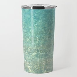 Colors of the Sea Water - Clear Turquoise Travel Mug