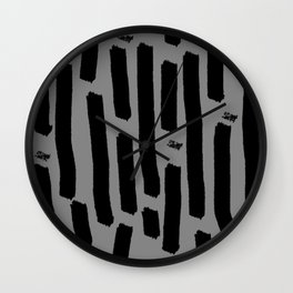 Shouts to the emptyness Wall Clock