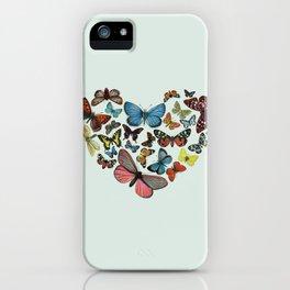BUTTERFLY LOVE II iPhone Case
