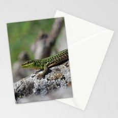 Green Lizard Stationery Cards