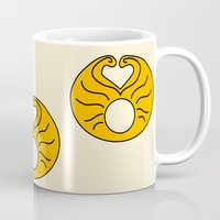 hedwig Mugs featuring Hedwig Wig! by byebyesally