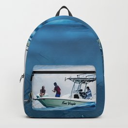 Jupiter Waters, USA - Life on and under the ocean Backpack