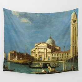 Venice - S. Pietro in Castello by Canaletto Wall Tapestry