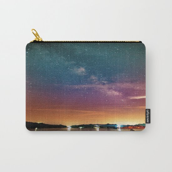 Milky Way over Water Carry-All Pouch
