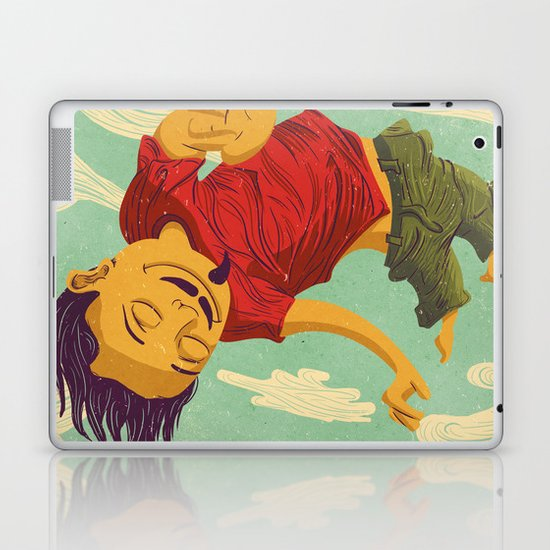 Tapete Voador Laptop & iPad Skin
