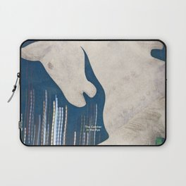 J. D. Salinger's The Catcher in the Rye - Literary book cover design Laptop Sleeve