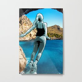 Leap of faith Metal Print