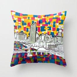 BRISBANE POSTCARD SERIES 019 Throw Pillow
