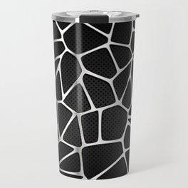 PATTERN-BLACK 3D Travel Mug