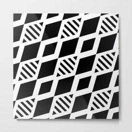 black and white background #society6 #decor #buyart #artprint Metal Print