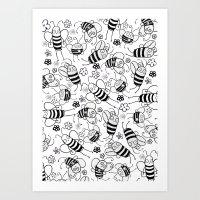 Bumble Art Print
