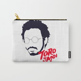 Toro Y Moi - Minimalistic Print Carry-All Pouch