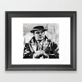 SCARFACE AL CAPONE Framed Art Print