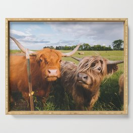 Highland Cows - Blep Serving Tray