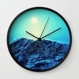 Sparkling Dessert Dunes Nightlight Wall Clock