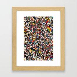 Pattern № 78 Framed Art Print