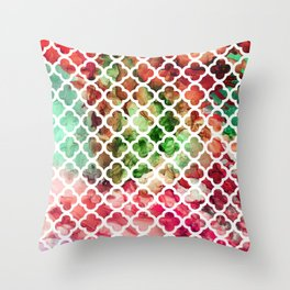 Colorful skylights Throw Pillow