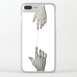 Hands love Clear iPhone Case