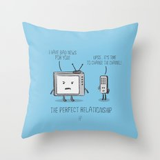 The Perfect Relationship 05 Throw Pillow