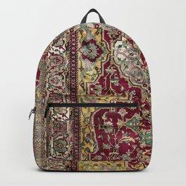 Farahan Arak West Persian Silk Rug Print Backpack