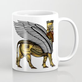 Alien Anunnaki God Ancient Sumerian King Coffee Mug