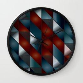 Pattern #5 Tiles Wall Clock