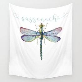 Sassenach Dragonfly Wall Tapestry