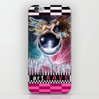artrave iPhone & iPod Skins featuring artRAVE by Denda Reloaded