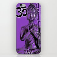 om iPhone & iPod Skins featuring OM by Enri-Art