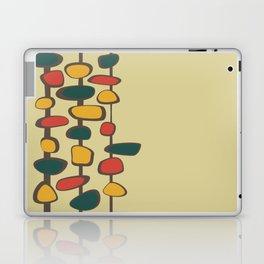 Mid Century Modern Baubles (gold) Laptop & iPad Skin