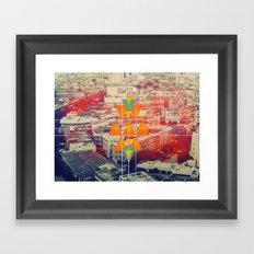 try angles Framed Art Print
