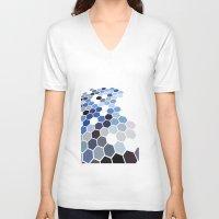 alaska V-neck T-shirts featuring Alaska by Bakmann Art