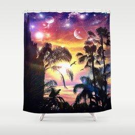 eveningSun Shower Curtain