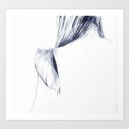 coldness Art Print