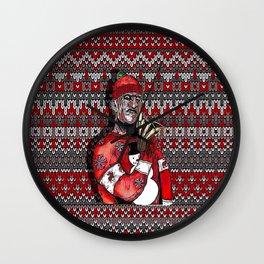 Freddy's Christmas Wall Clock