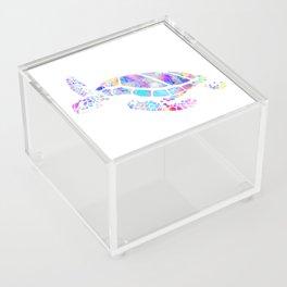 Sea Turtle Acrylic Box
