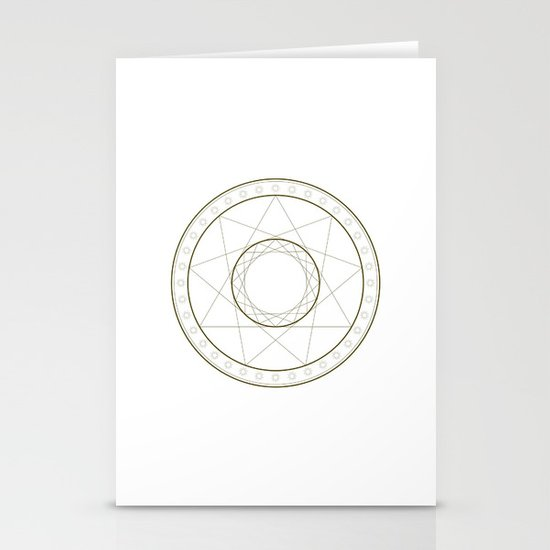 Anime Magic Circle 14 Stationery Cards