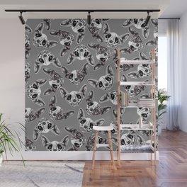 Shynx Half Skull Pattern Wall Mural