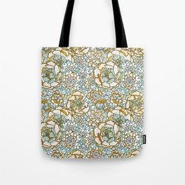 Succulents Garden Tote Bag