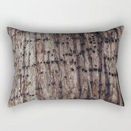 The Work of A Woodpecker Rectangular Pillow