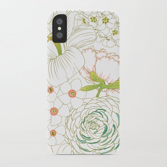 Big Blooms iPhone Case