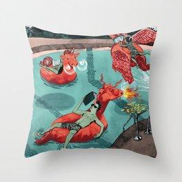 Fairytale Endings Throw Pillow
