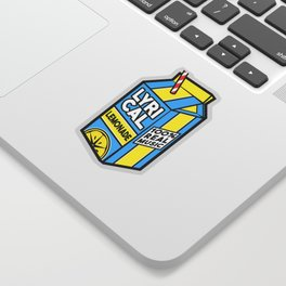 Lyrical Lemonade Sticker