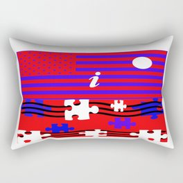 Amerikajin Dachi Rectangular Pillow