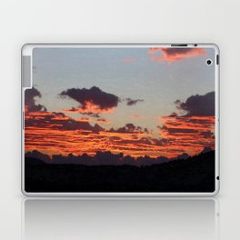 Aegean Sunset Laptop & iPad Skin