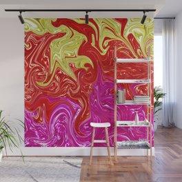 Sea Of Flaming Colors Wall Mural