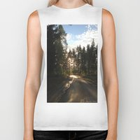 forrest Biker Tanks featuring My Forrest by Plutonian Oatmeal