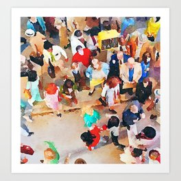 Wisdom of Crowds Art Print