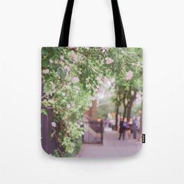 West Village in Bloom Tote Bag